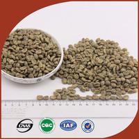 Bulk raw green coffee bean supplier, Grade AA arabica coffee beans, 25 kg jute bags coffee beans