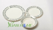 10.5inch dinner plate 8inch soup plate salad bowl