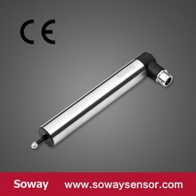 5mm Spring-loaded linear displacement sensor with aviation plugs