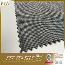 Polyester CD Yarn Grey Melange Color Fabric Flame Retardant Clothing