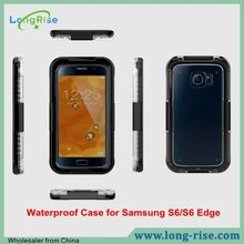 Newest Universal Touch Screen IPx68 Waterproof Case for Samsung Galaxy S6/S6 Edge