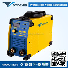 2015 Powerful CE Certification DC MMA-200 IGBT Single phase inverter welding