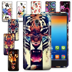 For Lenovo S860 Stylish Printing Tpu gel soft silicone Back Skin Cover case bag