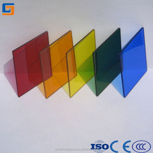 10mm colored tempered glass furniture