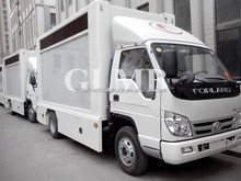 led roller light box advertising car,lifting screen led display truck,new led TV truck