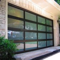 Sectional Aluminum Glass Garage Door Panels Sale