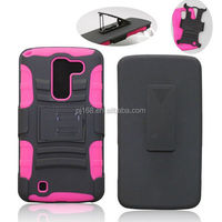 3 in 1 heavy duty kickstand hybrid combo case for Nokia lumia icon 929