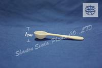 1g medicine powder measuring spoon, plastic medical measuring spoon 1g