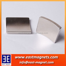 NICUNI coated ndfeb motor magnet/neodymium magnet for electric motor