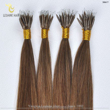 Virgin Remy Best quality Double Drawn Full Cuticle Great Length human hair extensions italian keratin bond