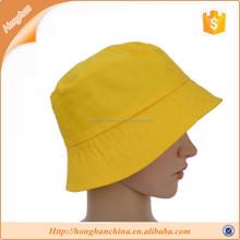 Bucket hats wholesale yellow