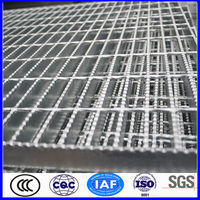 standard serrated galvanized steel grating weight(ISO9001)