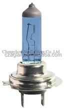 H7 Auto Halogen car head lamp 12V 55W super white halogen bulb