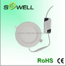 85-265V 12W 2835SMD 6000K 170*23mm Plastic+Aluminum indoor Recessed LED Panel lights