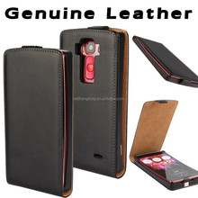 High quality genuine leather mobile covers phone case for LG G Flex 2 H959