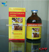 (50ml, 100ml)20% Oxytetracycline Injection of veterinary medicine drugs