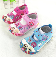 Wholesale Frozen Elsa Princess Baby Girl Shoes Kids Shoes Manufacturers China