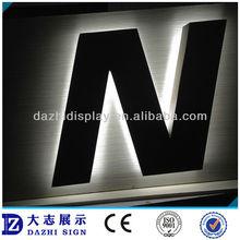 big size backboard drill hole LED signage
