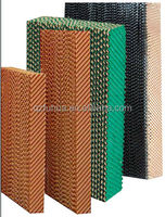 honey evaporative cooling pad /wet curtain made in FH