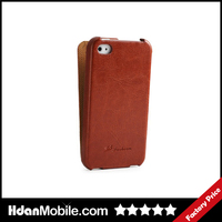 Luxury PU Folding Leather Case for iphone 4,Folio Flip Case for iphone 4