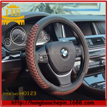 colorful girl 3D mesh fiber leather heated steering wheel covers