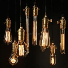 A19/A21/A60 Vintage edison Pendant Light BULB with light Bulb