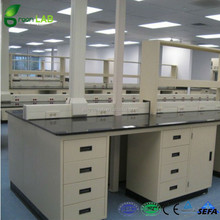 High Quality Elegant Wood Dental Lab Steel Work Bench With Drawers