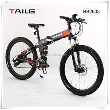 dongguan tailg good design folding off road electric mountain bikes