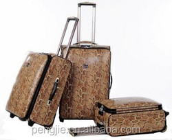 New design pu travelling and business luggages
