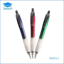 Metal LED light pen with clip,promotional metal ball pen with led light