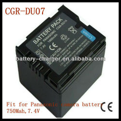 For Panasonic extended rechargeable battery CGA-DU07