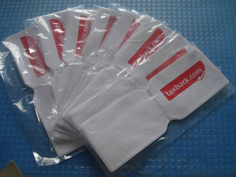 pvc oyster card holders