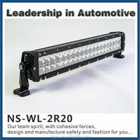 Automotive Straight Double Row 4D Cree 3w Led Bulb Light Waterproof IP68 Led Lights Bar