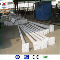 used solar panel for long arms light pole