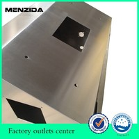 laser cutting bending welding and assembling stainless steel sheet metal fabrication services