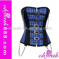 Fashion underbust gothic corset dress