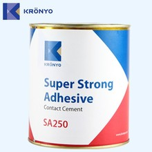 KRONYO self adhesive leather patch glue for velcro leather tape