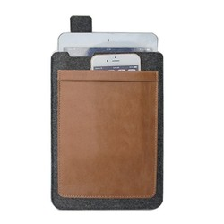 For ipad mini tough tablet phone case leather tablet sleeve