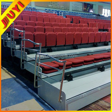JY-768 China Supplier Auditorium Furniture Folding Theater Seating Telescop Ladder Indoor Grandstand Commerical Theatre Seating