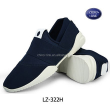 Elastic cloth shoes spring men canvas shoes
