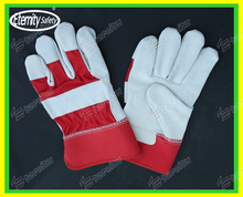 11 Grade A/AB/BC The oil workers double palm rubberized cuff glove