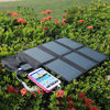 solar panel,foldable smart mobile phone power charger for laptop/battery