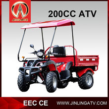 atv tracked vehicle 200cc cargo atv quad