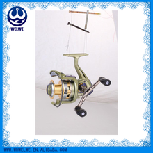 HIGH QUALITY FISHING REEL,with 3+1bb, aluminium spool with double color and one line CNC holes, mirror flash paint made body, m