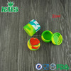 Power non-toxic portable pocket silicone jar container silicone containers small
