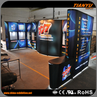 Unique OEM Trade Show Pop Up Foldable Display Stand For Promotion