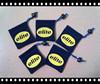 CUTE custom logo top fabric round bottom small velvet bags for gifts