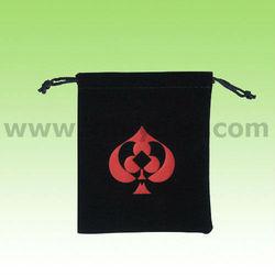 Beauty Christmas Candy Velvet Gift Bag Wholesale