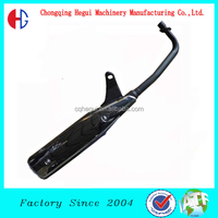 brand-new motorcycle exhaust muffler for hhai honda 5 generation motorcycle generator muffler