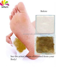 New Arrival Gold detox foot patch Natural Chinese Herbal Detox foot Patch
